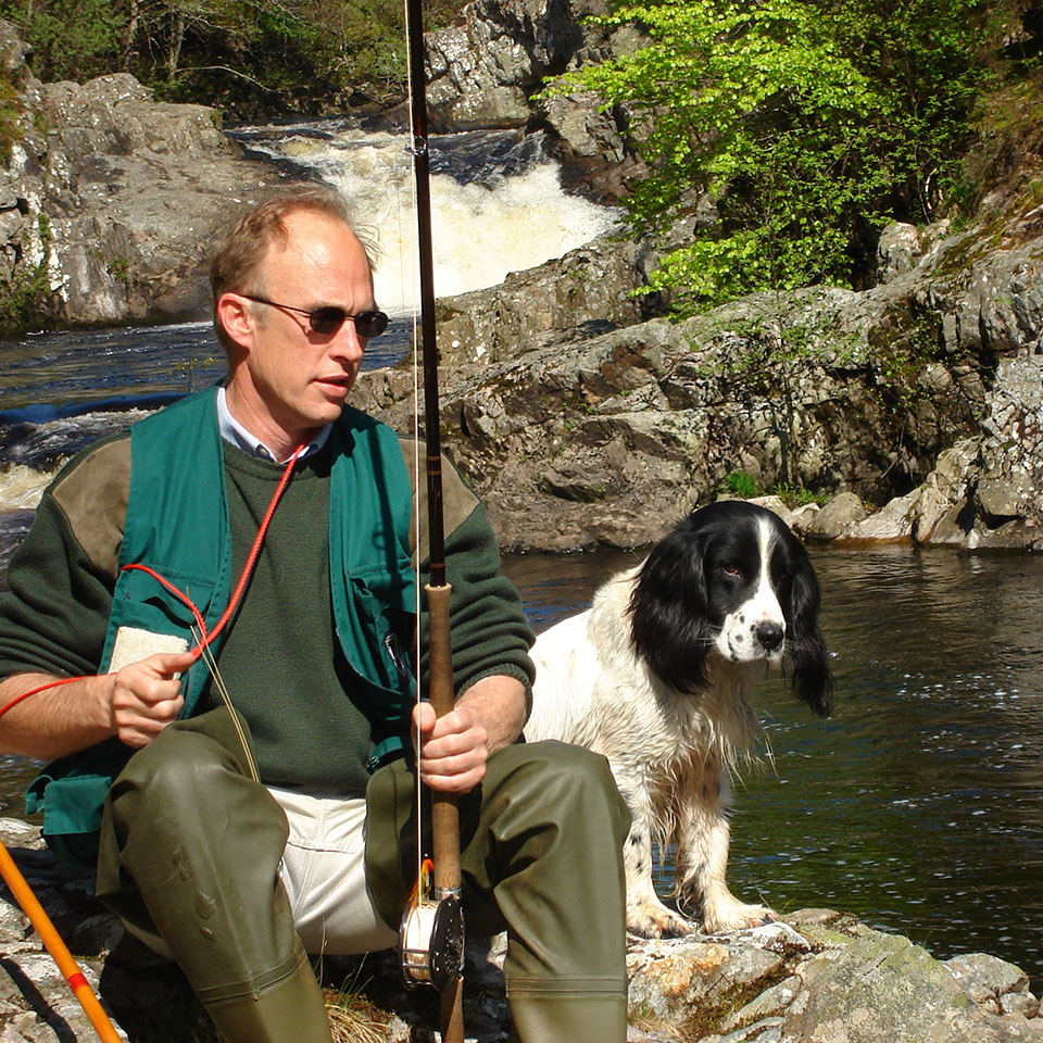 Chair Ian spent over 30 years with the Game and Wildlife Conservation Trust, retiring as its Director of Advisory and Education in 2014. During this time he led GWCT's fishery research team, including the management of a number of large, catchment scale river and fishery restoration projects. He now works a family croft on Sleat spending as much time as possible working his pointers and fishing Skye's lochs and rivers.