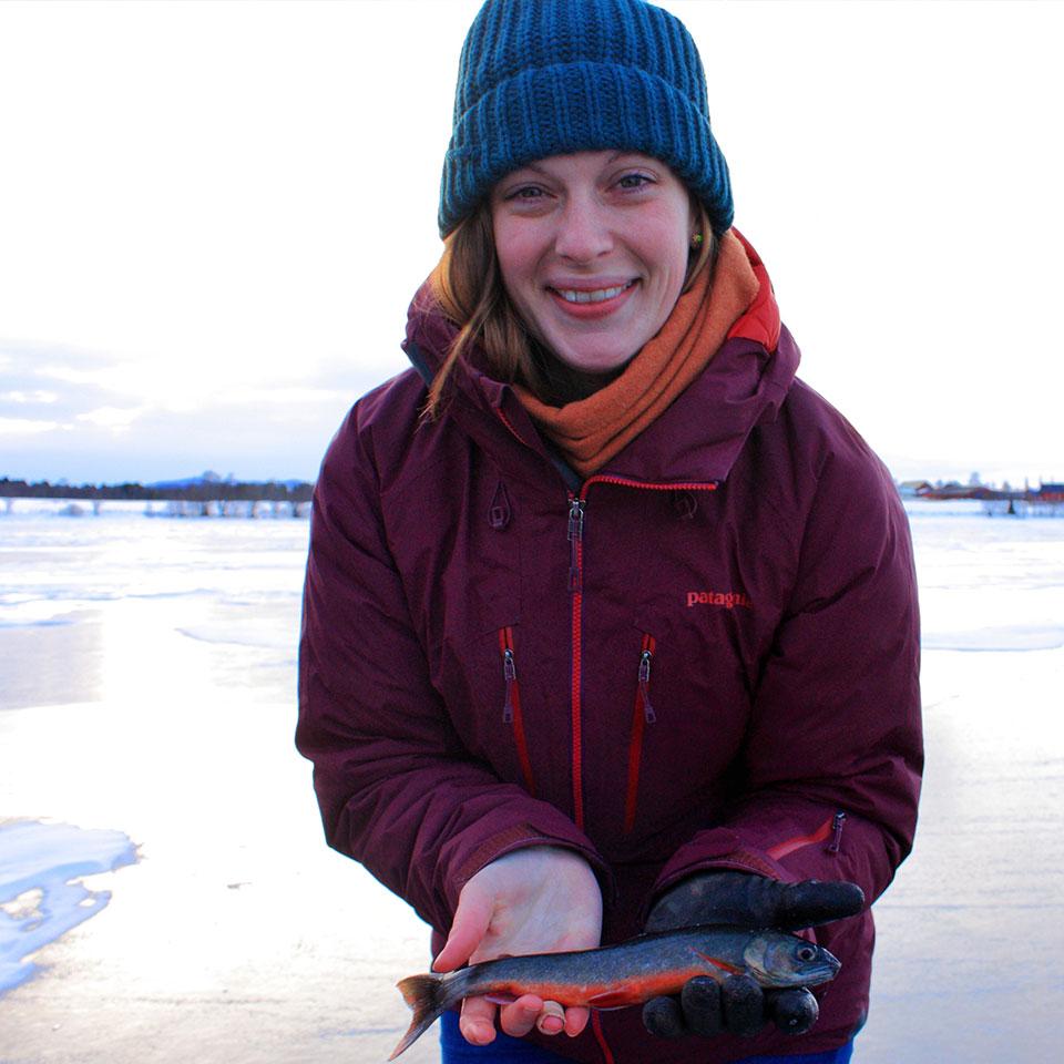 Isabel Moore, Senior Biologist/administrator, Skye and Lochalsh Rivers Trust