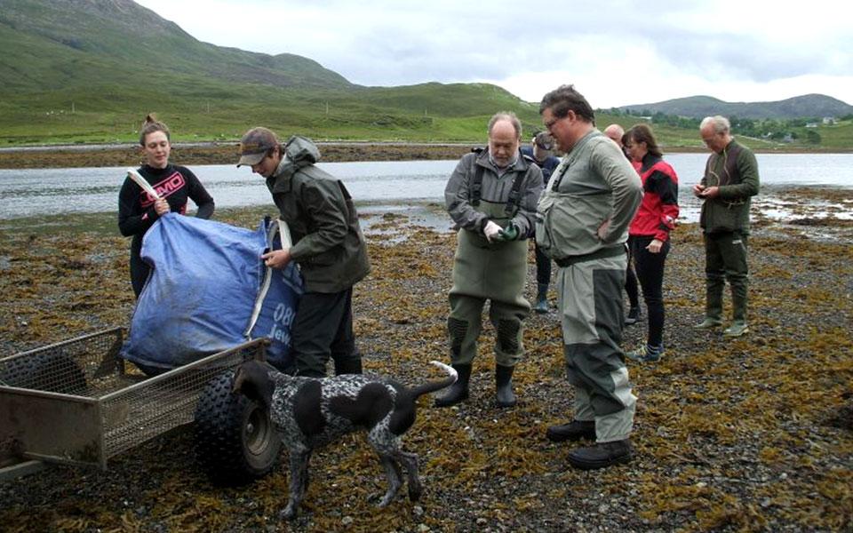 Skye and Lochalsh Rivers Trust sea lice monitoring